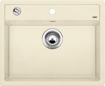 Кухонная мойка BLANCO DALAGO 6-F SILGRANIT жасмин с клапаном-автоматом кухонная мойка blanco dalago 5 f silgranit кофе с клапаном автоматом