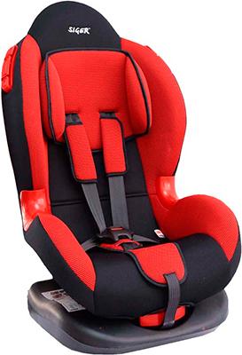 Фото - Автокресло Siger Кокон красный 9-25 кг автокресло группа 1 2 9 25 кг siger кокон isofix красный