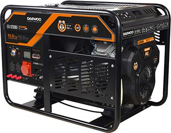 Электрический генератор и электростанция Daewoo Power Products GDA 12500 E-3 электрический генератор и электростанция daewoo power products gda 8500 e 3