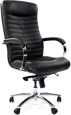 Офисное кресло Chairman 480 экопремиум черный