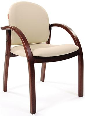 цена на Офисное кресло Chairman 659 к.з. Терра 101 беж матовый/темный орех