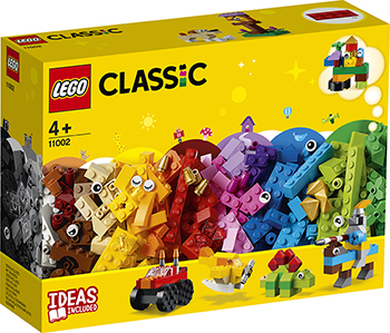 Фото - Конструктор Lego Базовый набор кубиков 11002 Classic пластиковый конструктор набор игровой 36 кубиков