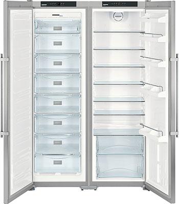 Холодильник Side by Side Liebherr SBSesf 7212-25 (SGNesf 3063-25 + SKesf 4240-25) холодильник liebherr sbsesf 7212