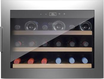 лучшая цена Встраиваемый винный шкаф CASO WineSafe 18 EB Inox