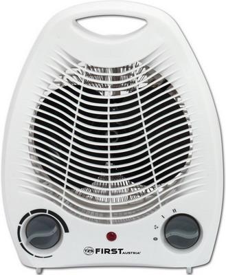 Тепловентилятор First FA-5568-2 White тепловентилятор first fa 5571 8 re 2000 вт дисплей пульт ду термостат таймер вентилятор красный белый