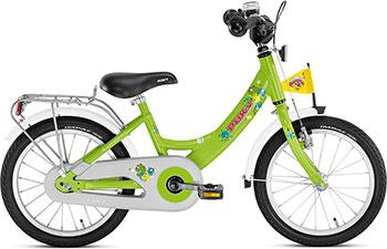 Велосипед Puky ZL 16-1 Alu 4225 kiwi салатовый цена