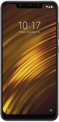 лучшая цена Смартфон Xiaomi Pocophone F1 128Gb 6Gb черный