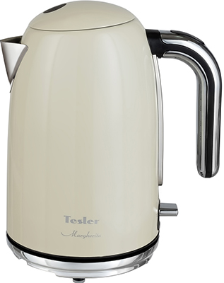 Чайник электрический TESLER KT-1755 BEIGE чайник электрический tesler kt 1755 sky blue