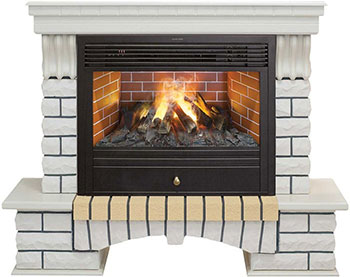 цены Каминокомплект Realflame Country 26 WT с 3D Novara