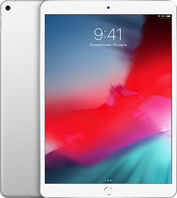 Планшет Apple iPad Air (2019) 256 Gb Wi-Fi + Cellular (MV0P2RU/A) серебристый планшет apple ipad air wi fi cellular 64gb 10 5 серебрянный 2019 mv0e2ru a a12 2 49 64gb 10 5 retina wi fi bt 3g lte 7 8mpx ios 12