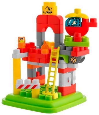 Конструктор Chicco Набор строительных блоков ''Пожарная станция'' (70 дет.) конструктор ksz уксар тотемное животное джунглей 89 дет 609 1