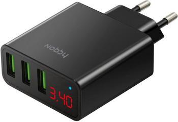 Сетевое зарядное устройство Nobby Comfort NBC-TC-34-20