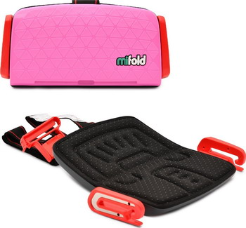 Автокресло Mifold the Grab-and-Go Booster seat Perfect Pink розовый MF 01-EU PNK цена