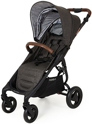 Коляска Valco baby Snap 4 Trend Charcoal 9818 люлька valco baby external bassinet для коляски snap trend snap 4 trend ultra trend grey marle