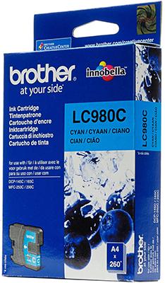 Фото - Картридж Brother LC 980 C голубой кактус голубой кпб детский sofi de marko кактус голубой кпб детский