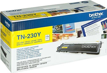 цены на Тонер-картридж Brother TN 230 Y желтый в интернет-магазинах
