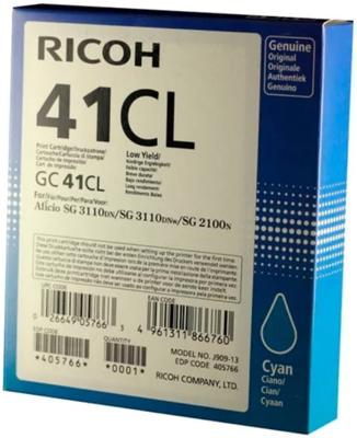 цена на Картридж Ricoh GC 41 CL 405766 Голубой
