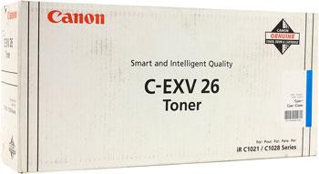 Тонер-картридж Canon C-EXV 26 C 1659 B 006 Голубой