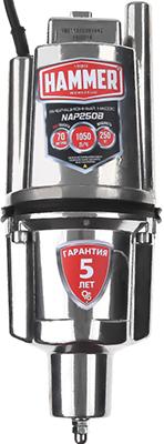Насос вибрационный Hammer NAP250B(10) серый подгузники molfix подгузники миди 3 4 9 кг 90 шт