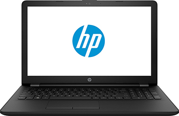 Ноутбук HP 15-bs166ur i3 (4UK92EA) Черный ноутбук hp 15 bs151ur i3 3xy37ea черный