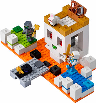 Конструктор Lego Арена-череп 21145 арена дж 100 снеговиков