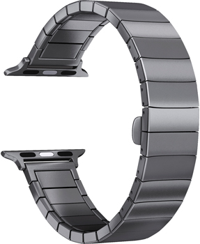 Ремешок для часов Lyambda для Apple Watch 38/40 mm LIBERTAS DS-APG-06-40-BK Black