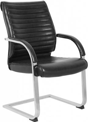 Кресло Бюрократ T-8010-LOW-V/BLACK черный офисный стул бюрократ t 8010 low v