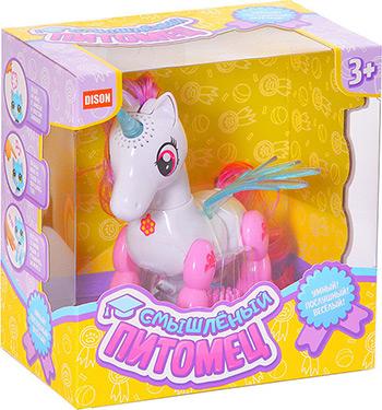 Интерактивная и развивающая игрушка Наша игрушка Единорог эл. Смышленый питомец E5599-8 все цены