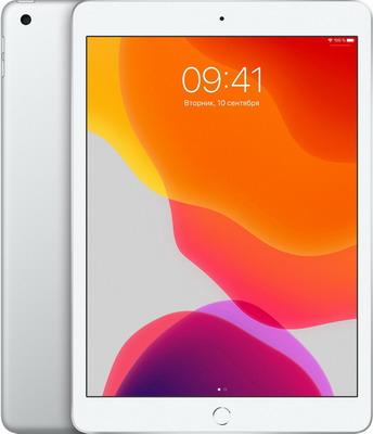 Планшет Apple iPad (2019) 10 2'' Wi-Fi 32 ГБ серебристый (MW752RU/A)