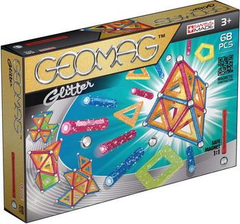 Конструктор Geomag Glitter 68 дет. 533 конструктор guidecraft io blocks 59 дет g9604
