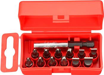 Набор бит Felo 12 шт серия Profi с держателем бит 02091016 набор бит felo 35 шт в кейсе серия industrial 02073516