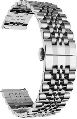 Фото - Ремешок для часов Lyambda из нержавеющей стали для часов 20 mm CASTOR DSG-07-06T-20-SL Silver смотреть ремешок ремешок весна бар ссылка pin remover ремонт инструмента из нержавеющей стали