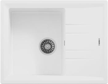 Кухонная мойка Teka STONE 45 S-TG 1B 1D WHITE ручной слив 115330047 inter step is tg sama71fsw 000b201 transparent white