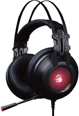 Аудио гарнитура игровая проводная A4Tech Bloody G525 черный аудио гарнитура игровая проводная a4tech bloody j437 черный