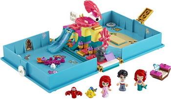 Конструктор Lego Disney Princess Книга сказочных приключений Ариэль 43176