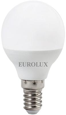 Лампа светодиодная Eurolux LL-E-G45-7W-230-4K-E14 (шар 7Вт нейтр. Е14) белый canon e 30 4k page 7