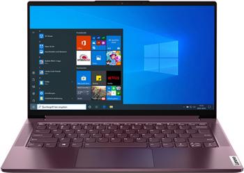Ноутбук Lenovo Yoga Slim 7 14IIL05 (82A10085RU) красный
