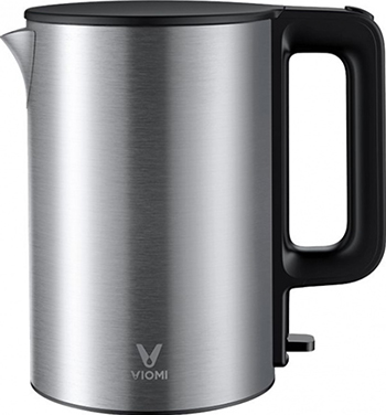 Чайник электрический Xiaomi Viomi Metal Electric Kettle EU plug (V-MK151B Black/Metal) GLOBAL металлический