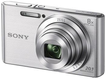 цена на Цифровой фотоаппарат Sony DSC-W 830 серебристый