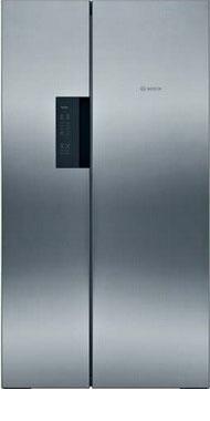 Холодильник Side by Side Bosch KAN 92 VI 25 R цена и фото