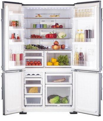лучшая цена Многокамерный холодильник Mitsubishi Electric MR-LR 78 G-DB-R