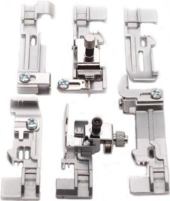 Набор лапок Merrylock для 4-хниточного оверлока стол для швейной машины и оверлока комфорт 1qlw