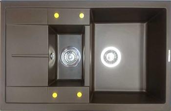 Кухонная мойка LAVA D.4 (LAVA чёрный металлик)