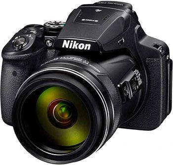 Цифровой фотоаппарат Nikon Coolpix P 900 черный цифровой фотоаппарат nikon coolpix a 100 purple lineart