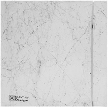 Вытяжной вентилятор Soler & Palau SILENT-200 CZ MARBLE WHITE DESIGN - 4C (белый мрамор) 03-0103-181