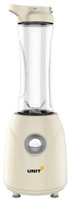 Блендер UNIT UBI-403 Бежевый блендер стационарный unit ubi 404 чёрный чаша стекло стационарный 1 5л 1000вт нерж сталь 3 скорости пульс