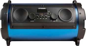 Музыкальный центр Hyundai H-MC 200 черный/синий
