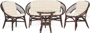 купить Комплект мебели Tetchair Turkey (dark brown) 11977 по цене 17988 рублей
