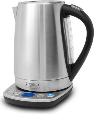 Чайник электрический CASO WK 2200 чайник braun wk 600 2200 серебристый 1 7 л нержавеющая сталь
