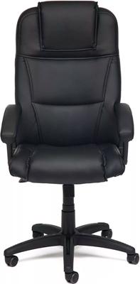 Офисное кресло Tetchair BERGAMO (кож/зам Черный PU-C 36-6) кресло офисное из натуральной кожи tetchair grand black доступные цвета обивки натур чёрная кожа серая сетка